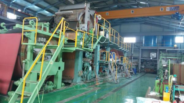 [~6.JUL.17]Paper machine (Korean paper manufacturing facility)_1SET